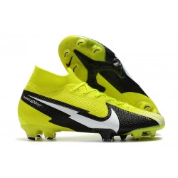 Bota Nike Mercurial Superfly 7 Elite FG Amarillo Negro Blanco