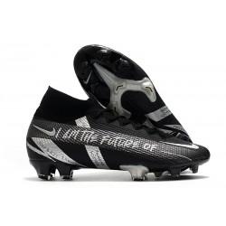 Bota Nike Mercurial Superfly 7 Elite FG Future Negro Plata