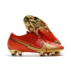 Nike Mercurial Vapor XIII 360 Elite FG Ronaldo CR100 Rojo Oro