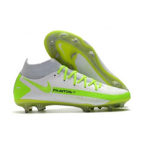 Nike Botas Nuevo Phantom GT Elite DF FG - Blanco Verde