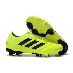 Zapatillas de Fútbol adidas Copa 19.1 FG - Amarillo Solar Negro