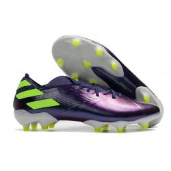 Zapatos de Fútbol adidas Nemeziz 19.1 FG - Violeta Verde