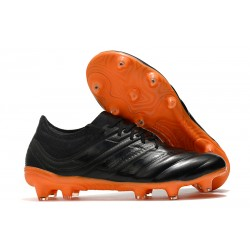 Zapatillas de Fútbol adidas Copa 19.1 FG - Negro Naranja