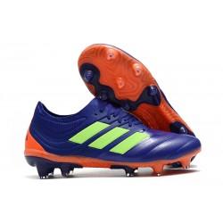 Zapatillas de Fútbol adidas Copa 19.1 FG - Violeta Verde