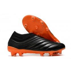 Botas de fútbol adidas Copa 20+ FG Negro Naranja