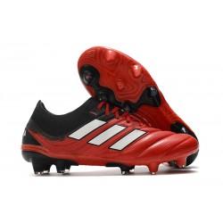 Botas de fútbol adidas Copa 20.1 FG Rojo Blanco Negro