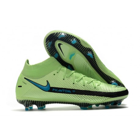 Nike Botas Nuevo Phantom GT Elite DF FG - Verde Negro