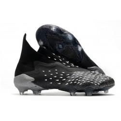 Botas de Fútbol adidas Predator Freak FG Negro Gris Blanco