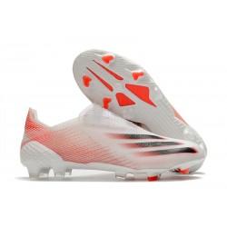 Zapatillas adidas X Ghosted + FG Blanco Rosso Negro