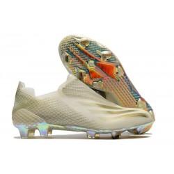 Zapatillas adidas X Ghosted + FG Blanco Oro