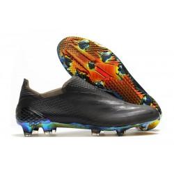 Zapatillas adidas X Ghosted + FG Negro Azul