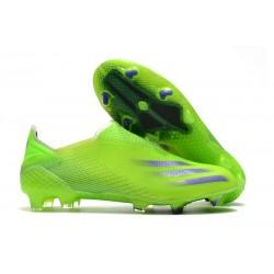 Zapatillas adidas X Ghosted + FG Verde Tinta Energía
