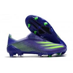 Zapatillas adidas X Ghosted + FG Tinta Energía Verde