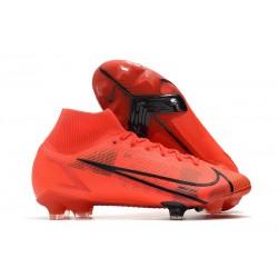 Zapatillas Nike Mercurial Superfly VIII Elite FG Rojo Negro