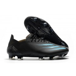 adidas x Ghosted.1 FG Negro Cyan Gris