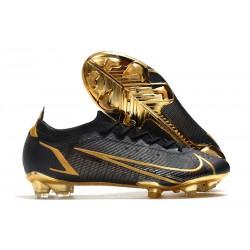 Nike Mercurial Vapor 14 Elite FG Negro Oro