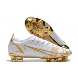 Nike Mercurial Vapor XIV Elite FG Blanco Oro