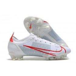 Nike Mercurial Vapor 14 Elite FG Blanco Rojo