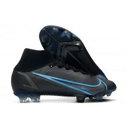 Nike Bota Mercurial Superfly 8 Elite FG Negro Gris Hierro