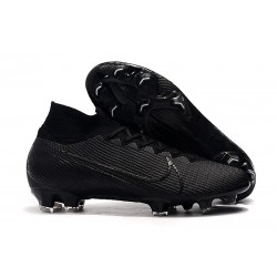 Nike Mercurial Superfly 7 Elite FG Botas de fútbol Under The Radar Negro