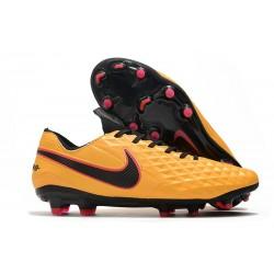 Zapatillas Nike Tiempo Legend VIII Elite FG - Naranja Negro