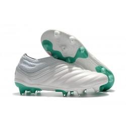 adidas Botas de Futbol Copa 19+ FG Blanco Verde