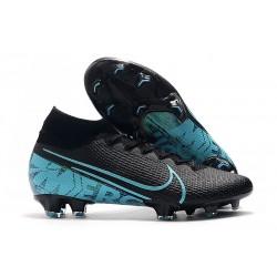 Nike Mercurial Superfly 7 Elite FG Botas de fútbol Negro Azul