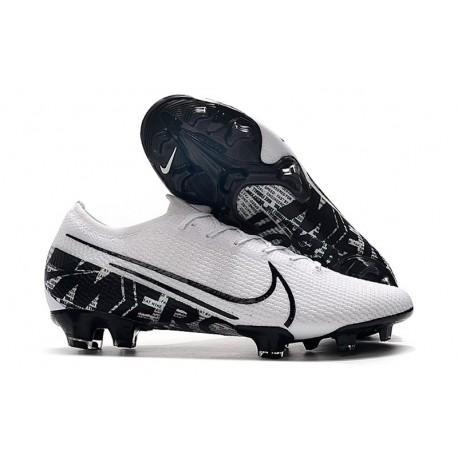 Nike Mercurial Vapor 13 Elite FG Zapatilla - Blanco Negro