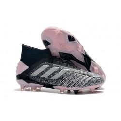 Botas de fútbol adidas Predator 19+ Fg - Gris Plata Rosa