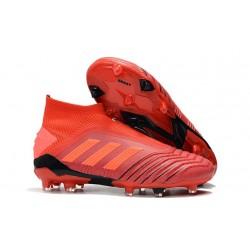 Botas de fútbol adidas Predator 19+ Fg - Rojo