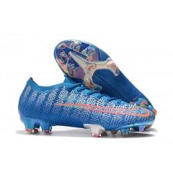 Botas de Fútbol Nike Mercurial Vapor XIII Elite FG Azul Rojo