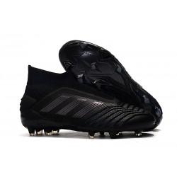 adidas Zapatillas de fútbol Predator 19+ FG - Negro