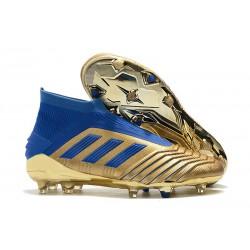 adidas Zapatillas de fútbol Predator 19+ FG - Oro Azul