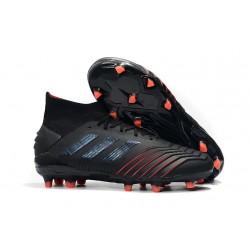 Zapatillas de Fútbol adidas Predator 19.1 FG Negro Rojo