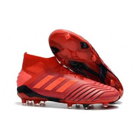 Zapatillas de Fútbol adidas Predator 19.1 FG Rojo