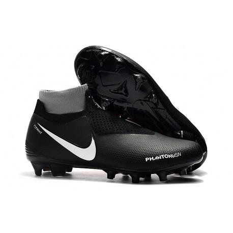 Botas de Fútbol Nike Phantom Vision Elite DF FG Negro Rojo Plata