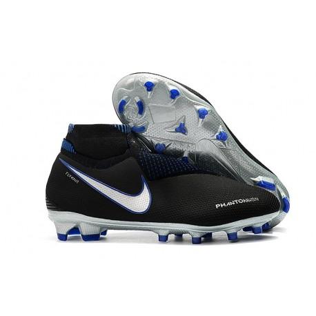Nike Zapatillas Phantom Vision Elite Dynamic Fit FG Negro Azul