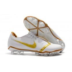 Zapatillas de Fútbol Nike Phantom VNM Elite FG Blanco Oro